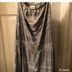 Gypsy 05 Strapless mini dress